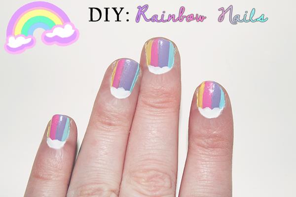 DIY: Rainbow Nails