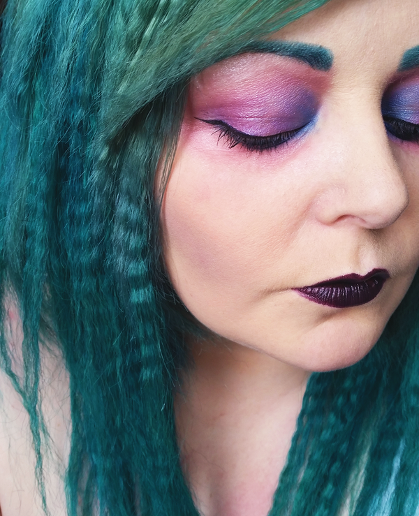 Dramatic Makeup: Mermaid Inspired