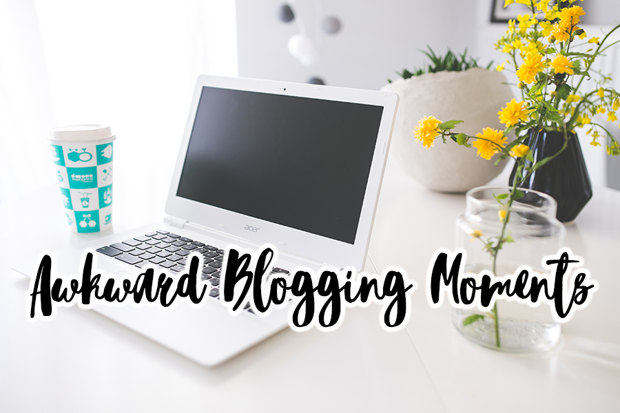 Awkward Blogging Moments