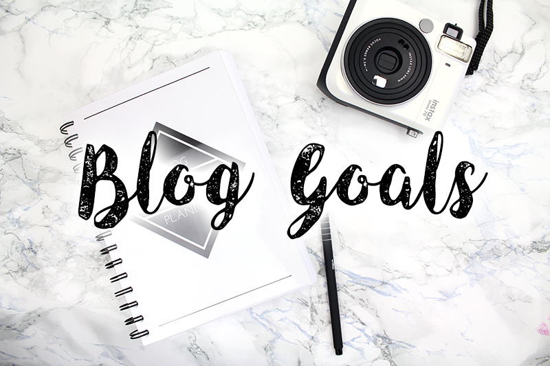 Monthly & Yearly Blog Goals
