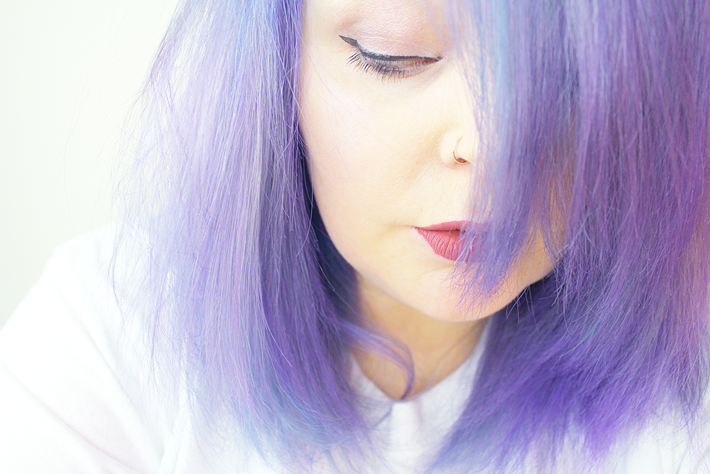 New Lilac Hair; Products and Prep