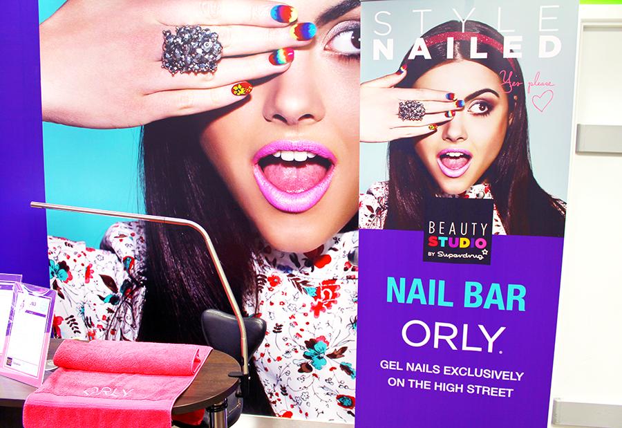 Superdrug nail bar