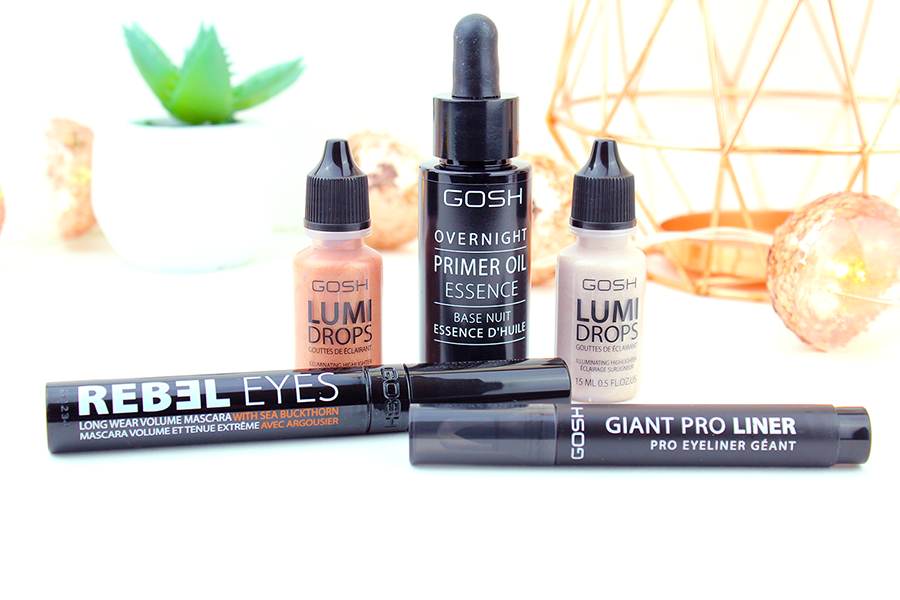 New GOSH Beauty Products