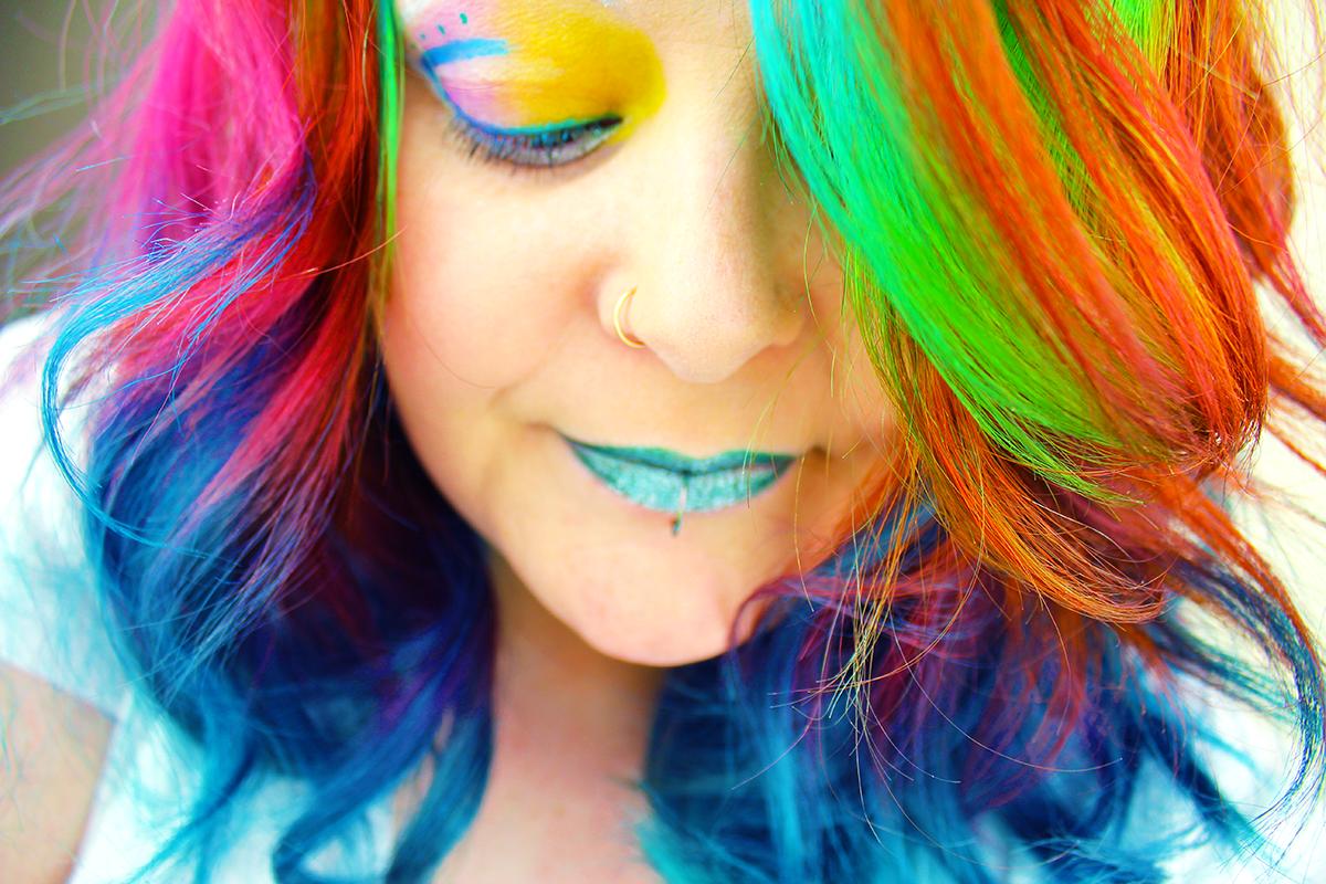 Rainbow Hair | REDKEN City Beats & Voodou Liverpool