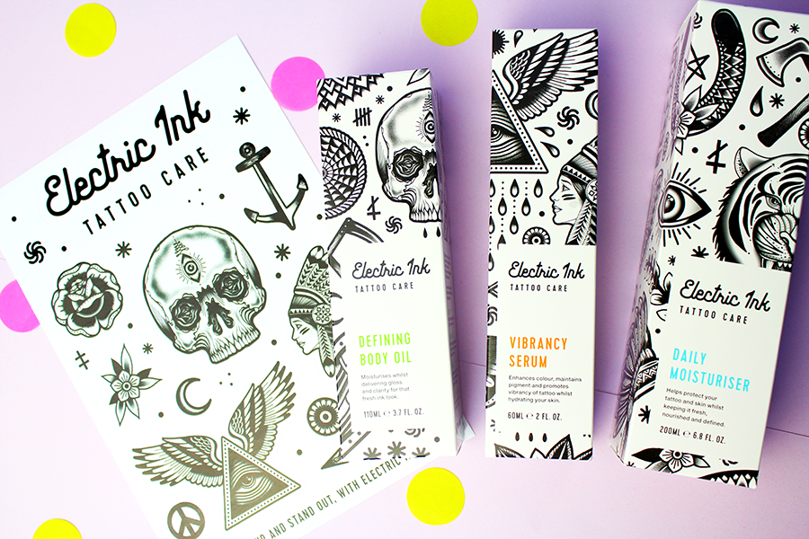 Electric Ink Tattoo Care & Giveaway