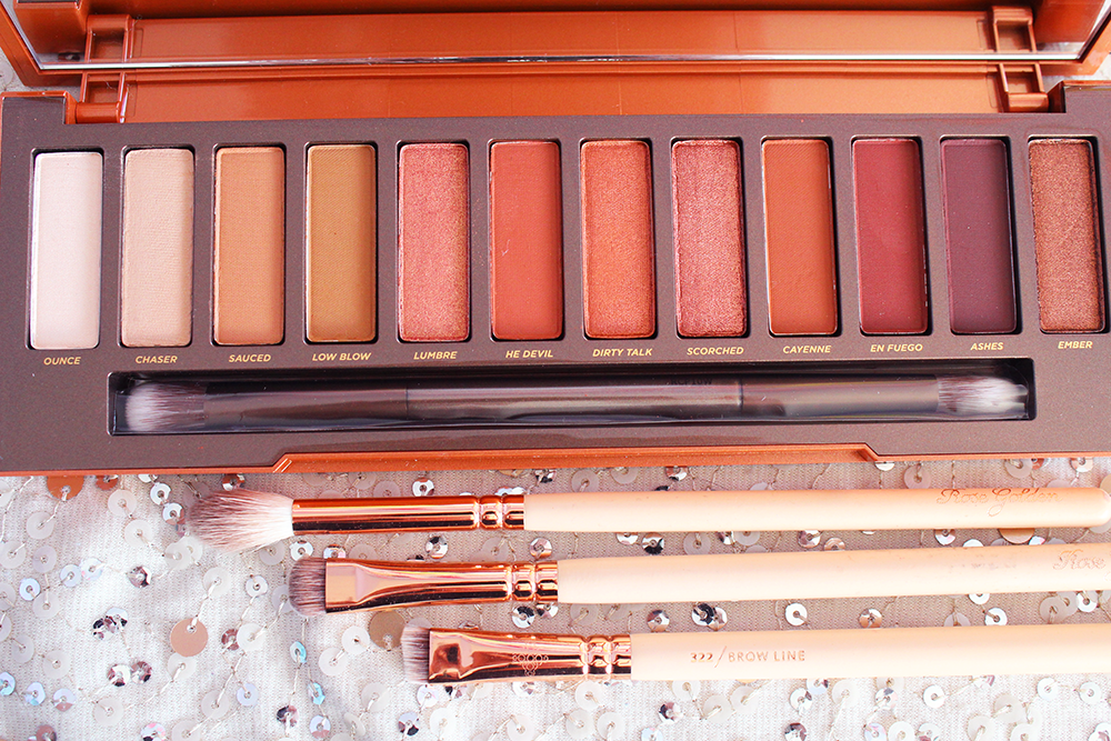 Urban Decay Naked Heat Palette full view