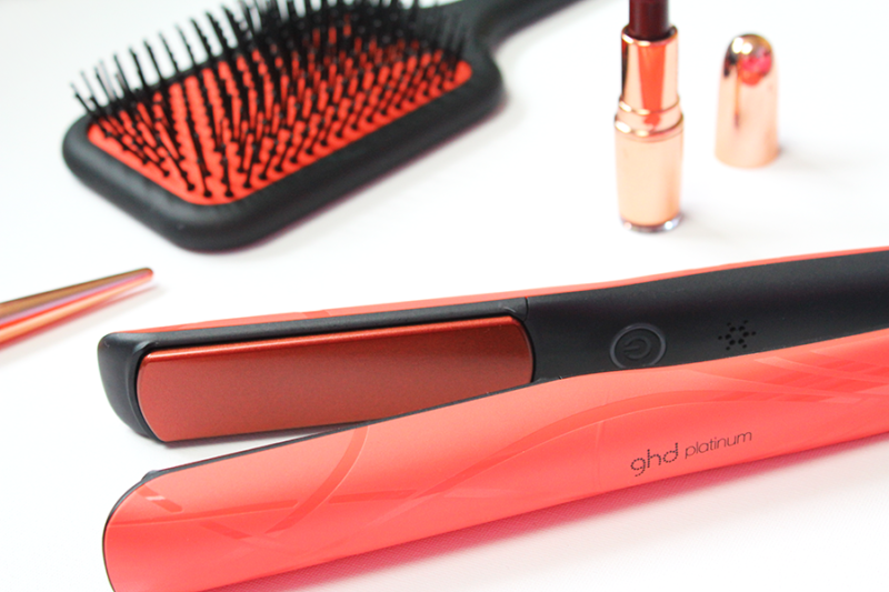 ghd pink blush styler