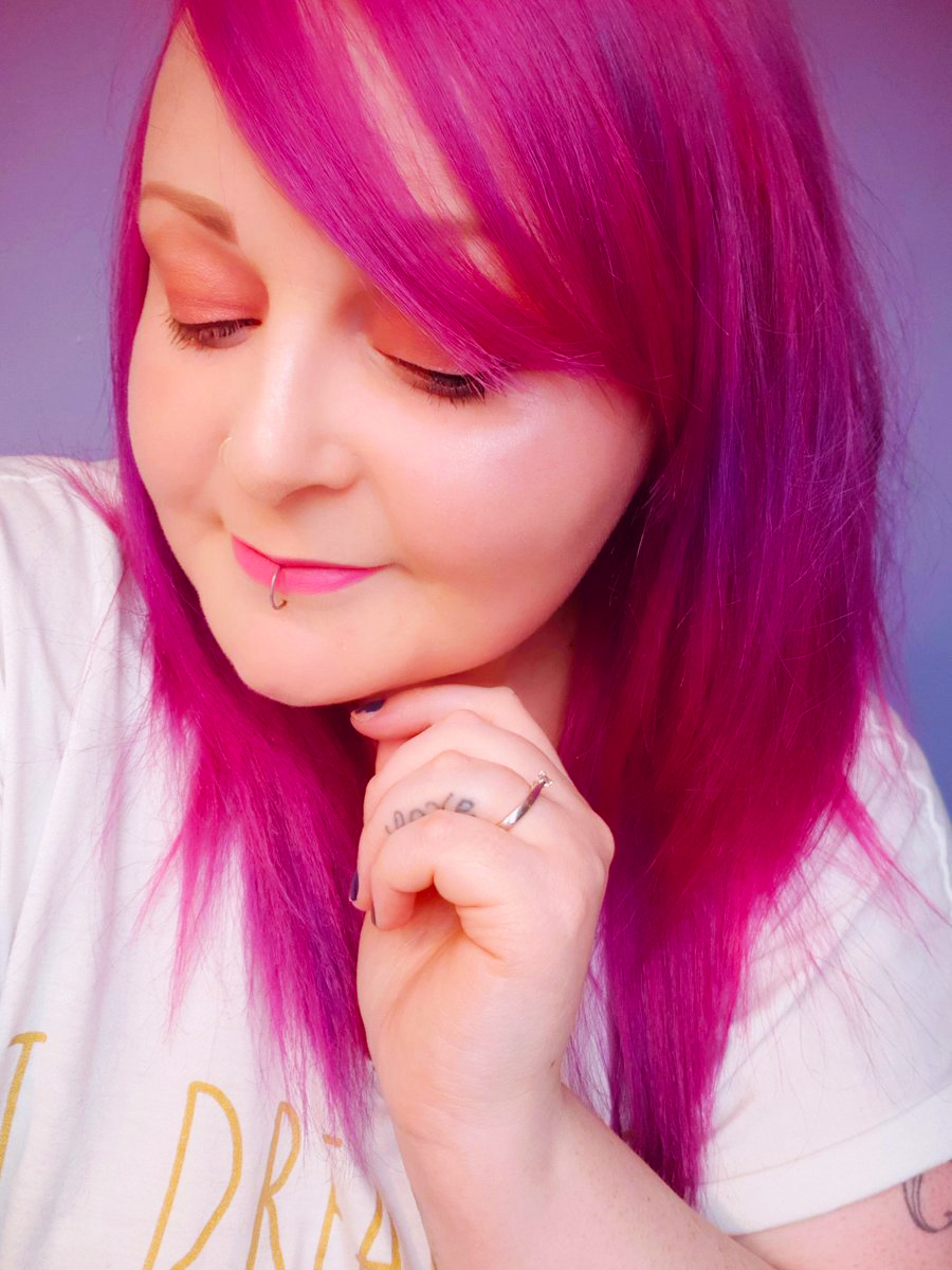 DIY Hair: Going From Blue To Pink With Colour Freedom