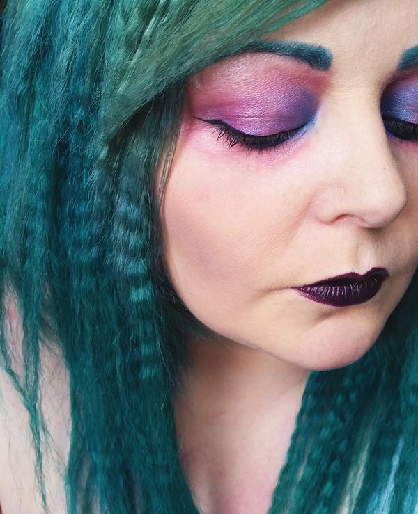 Dramatic Makeup: Mermaid Inspired