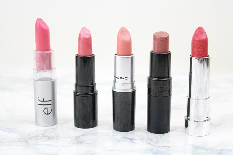 nude lipsticks MAC Makeup Revolution GOSH