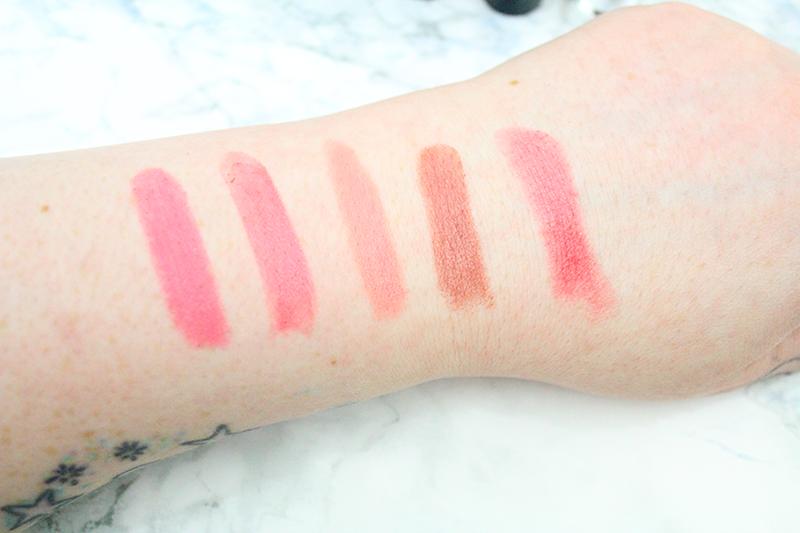 lipstick swatches MAC