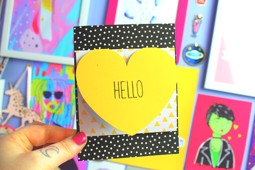 Cute Crafts; Oh Happy Day Card Kit