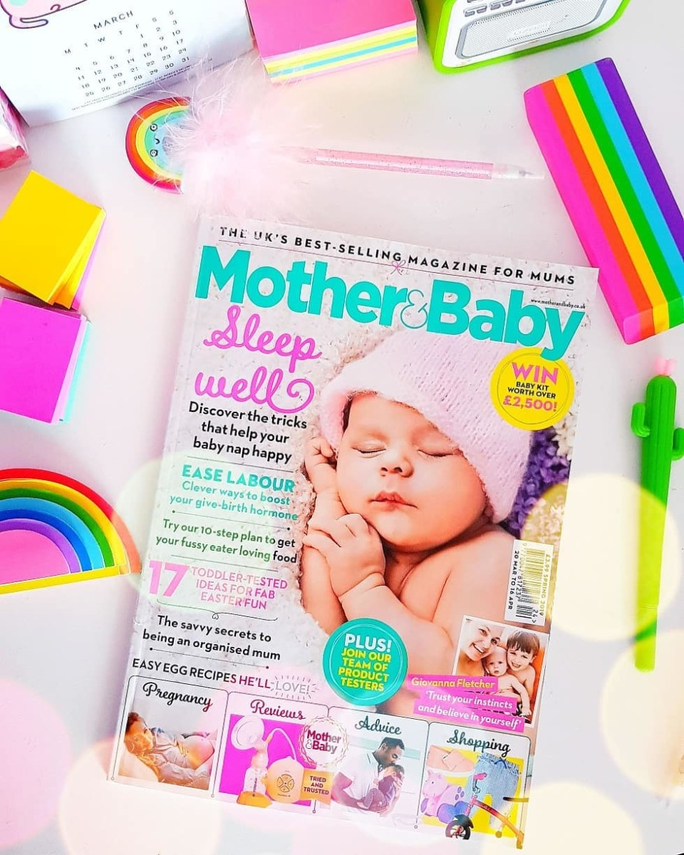 Diary Entry 9; Magazine Features, Teething & Birthday Plans